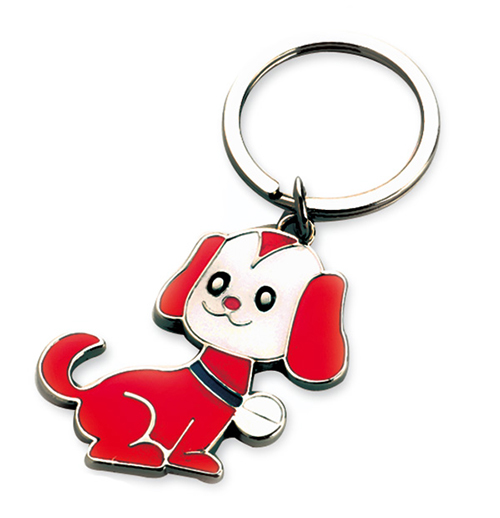 AK0450-dog keychain