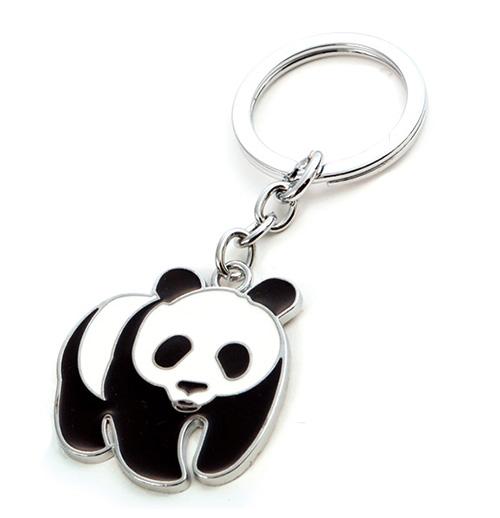 AK0542-panda keychain