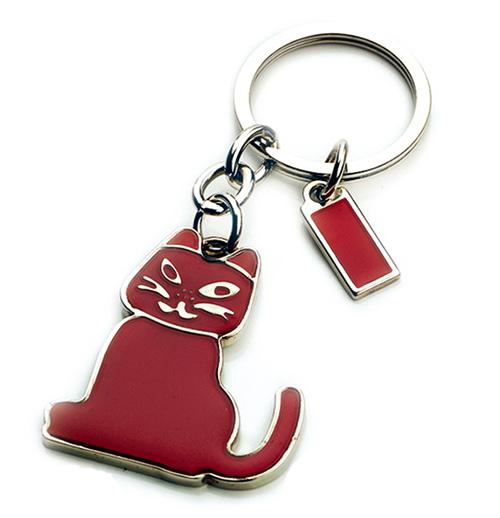 AK0460-cat keychain