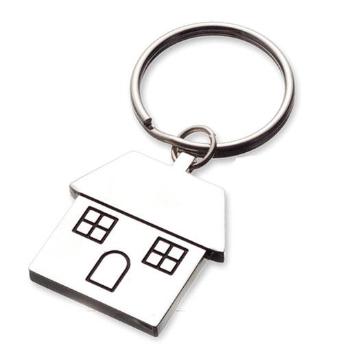 AK0239-house keychain