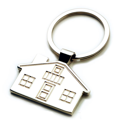 AK0213-house keychain