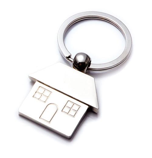 AK0240-house keychain