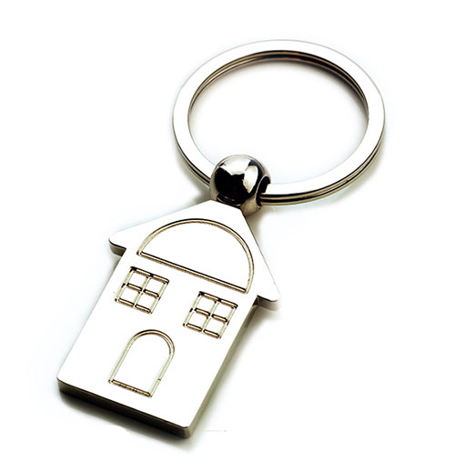 AK0212-house keychain
