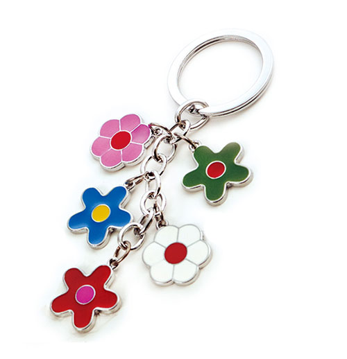 AK0493-flower charms