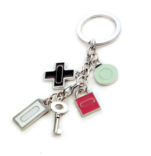 AK0490-lock&key charms