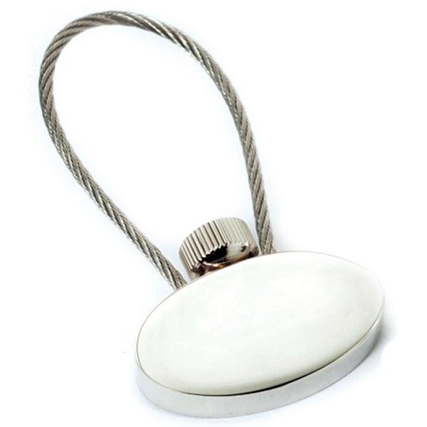 AK0039-oval keychain