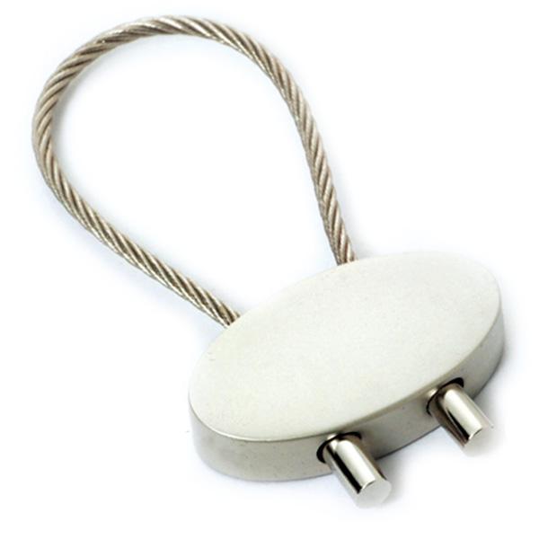 AK0038-oval keychain