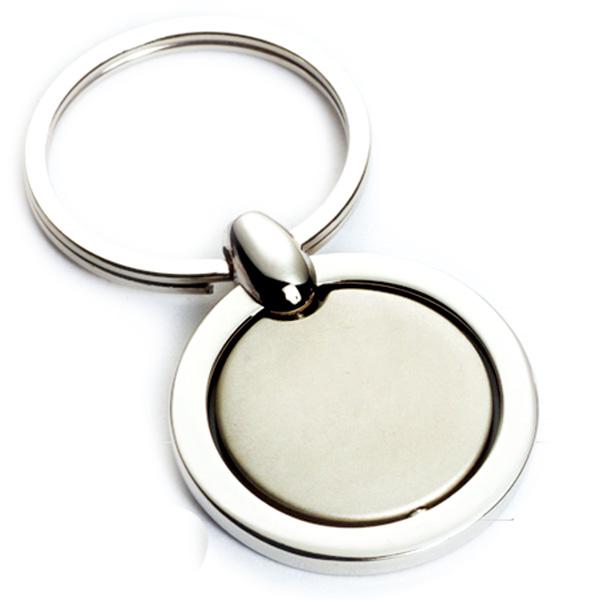 AK0136-round roating keychain