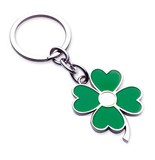 AK0442-Four Leaf Clover  keychain