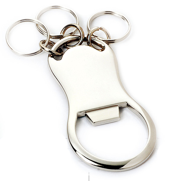 AK0017-opener with multi-ring keychain