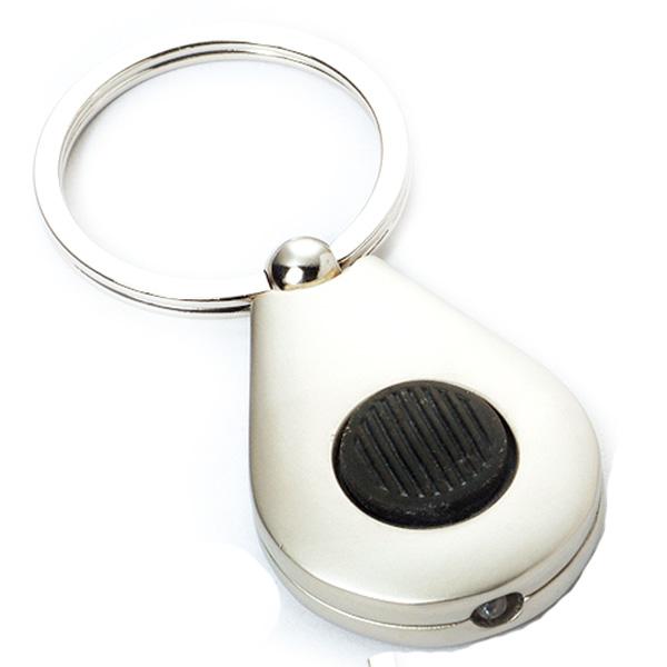 AK0334-oval led keychain