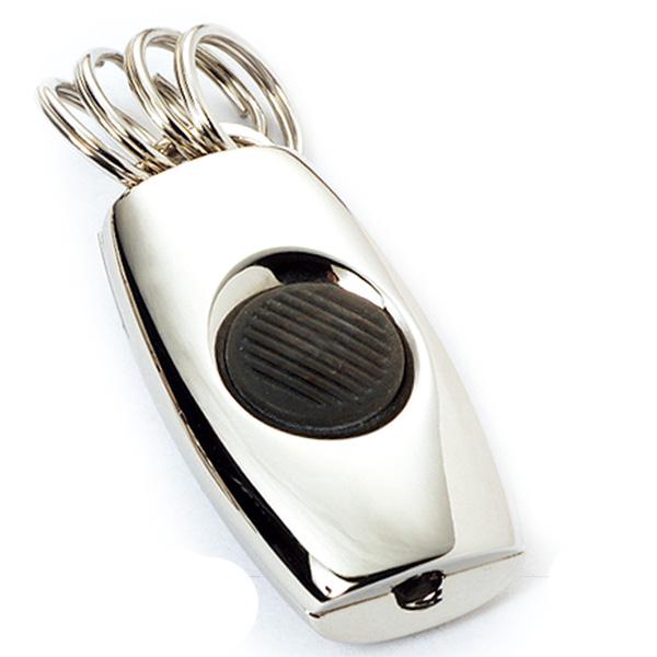 AK0335-muti rings led keychain