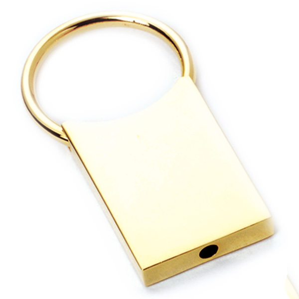 AK0305-retangle pull ring keychain