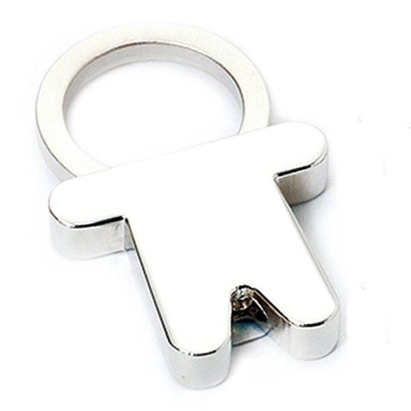 AK0299-boy pull ring keychain