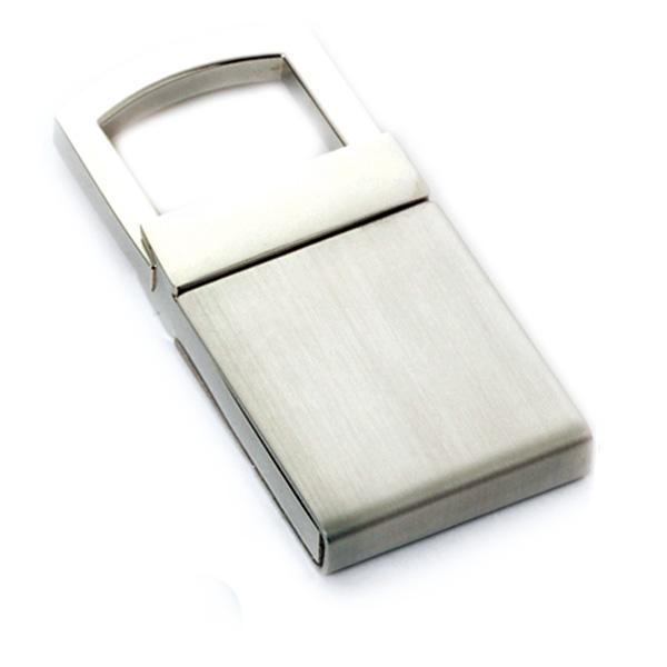 AK0298-lock pull ring keychain