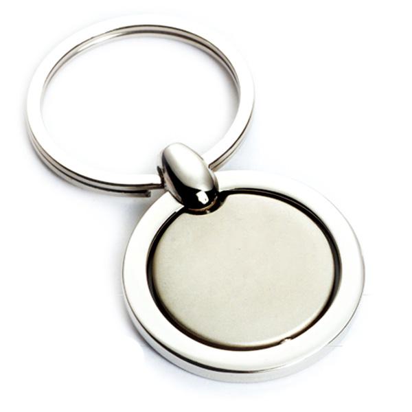 AK0136-round spinning keychain