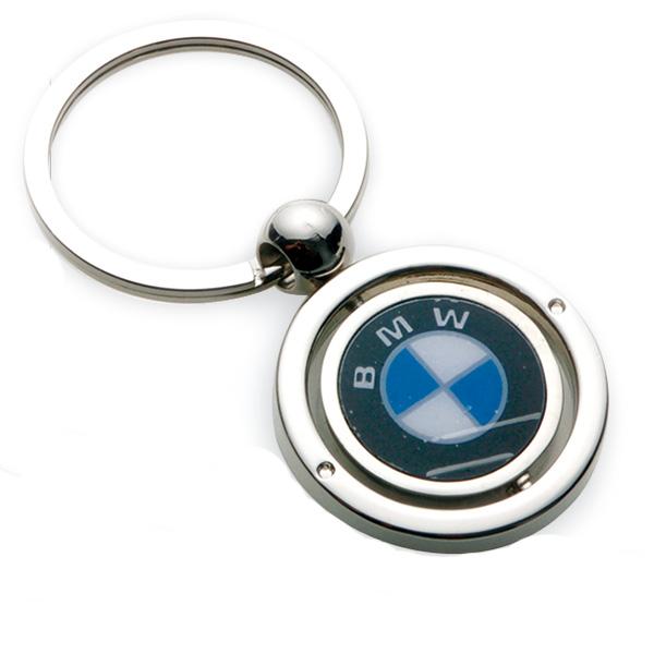AK0131-round  spinning keychain