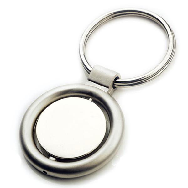 AK0137-round  spinning keychain