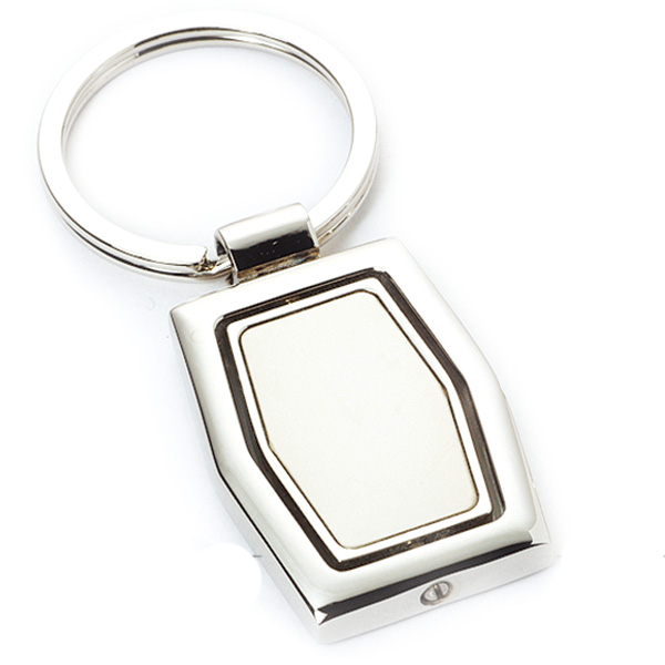 AK0135-simple  spinning keychain