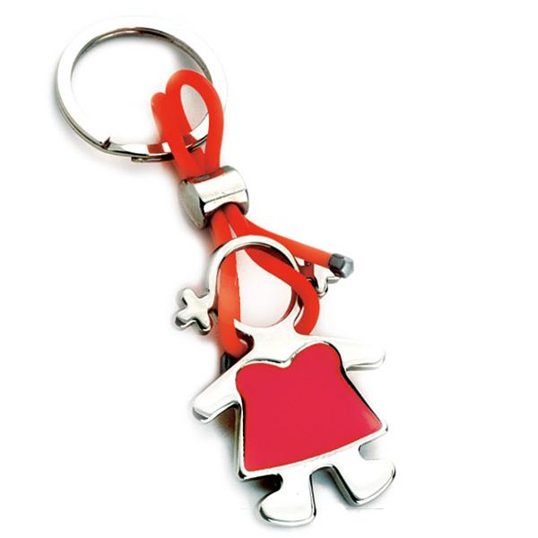 AK0434-girl keychain