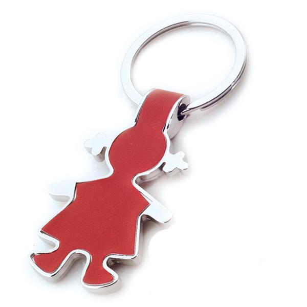 AK0409- girl keychain