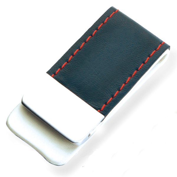 AK1087-leather money clip