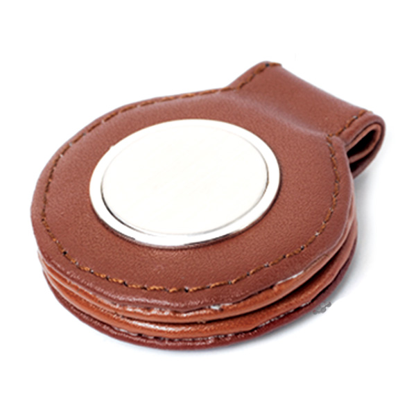 AK1085-leather money clip