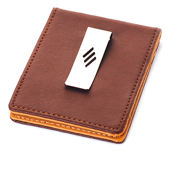 AK1093-leather money clip