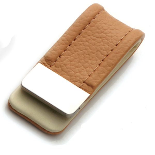 AK1088-leather money clip