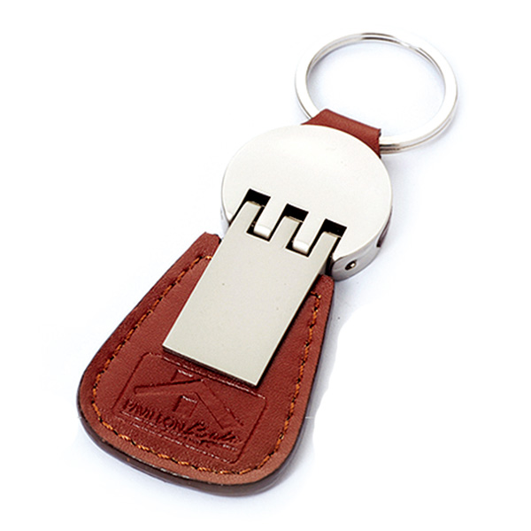 AK0979-leather keychain